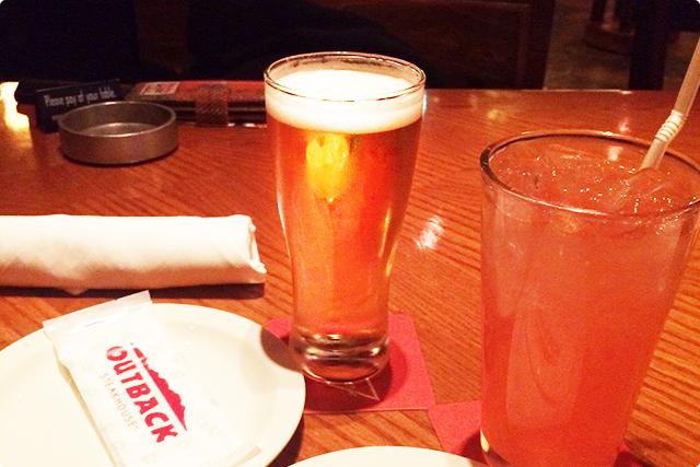 ビール&カクテル