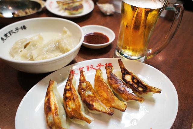 そしてお待ちかねの焼き餃子ニラにんにく入り(290円)