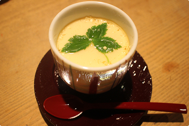百合根ともも肉だけのとってもシンプルな茶碗蒸しです!