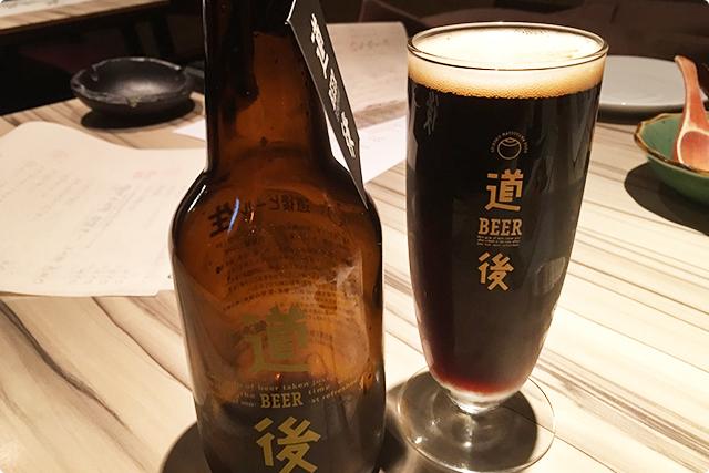 苦味がしっかりしているビールです。