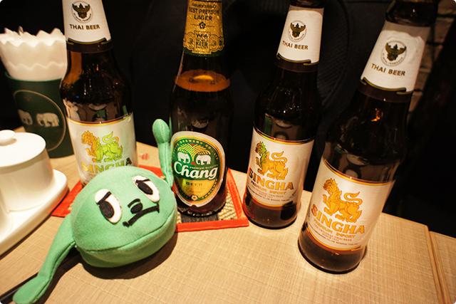 ビールもたくさん飲んだドロ~