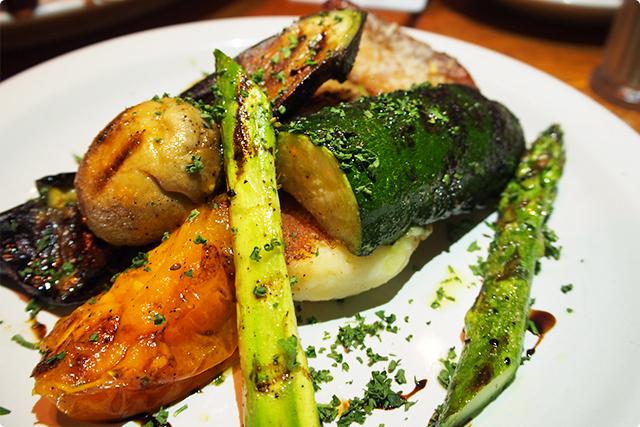 バルサミコ風味でさっぱり仕上がっていてほんとに野菜美味しい!笑