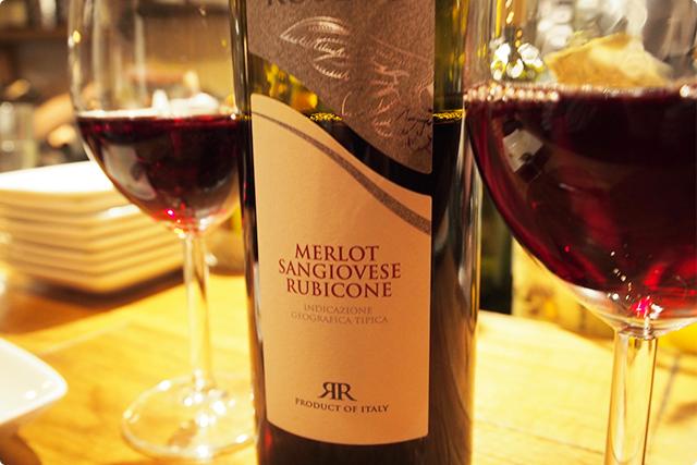 これは重すぎず飲みやすい赤ワイン!イタリアのワイン美味しいね。
