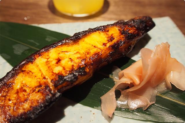 『つぼ鯛の西京焼』やっと焼き物が出てまいりました!味付け最高!