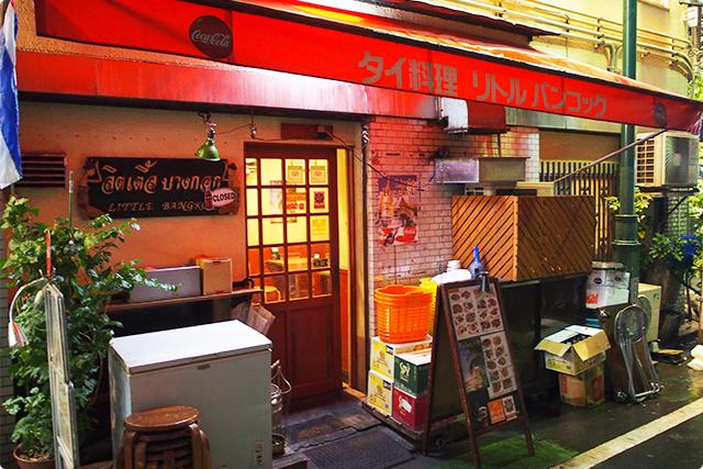 入り口入ったら、タイの屋台のようななんだか暖かい雰囲気に包まれますよ!(上にスクロールして最初の写真みてね!笑)