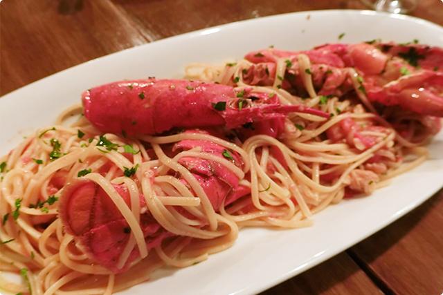 『オマール海老のスパゲッティ』