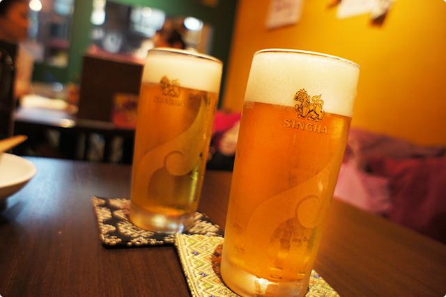 来ましたよ~!『シンハー生ビール』