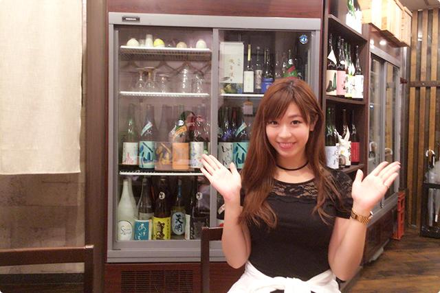 日本酒はこんなに種類が!メニューに載ってないものも出してくれます☆