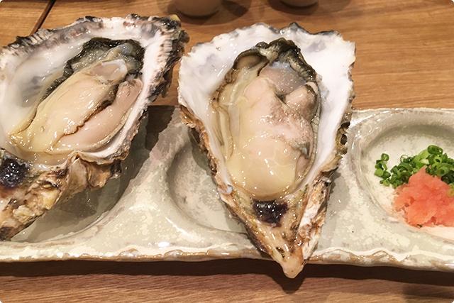 『上生牡蠣』
