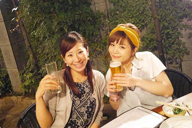 あ~幸せ♪ビール・肉・テラス!これぞ夏の極み!!