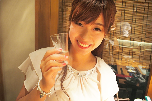 いい飲みっぷり!!