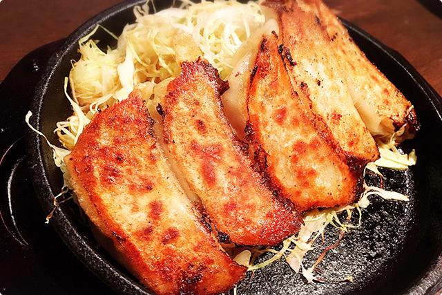 『大虎焼餃子(大き目5コ)』¥480