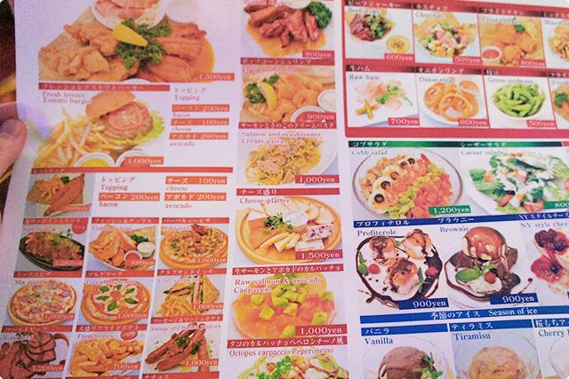 料理も1,000円前後の品が多く、気軽に注文できます