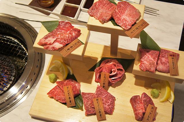 最後に『本日の希少肉7点盛り』1名様3,000円(2名様から)