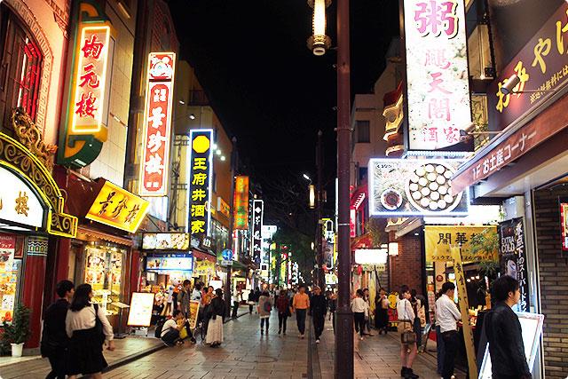 横浜中華街ですねー