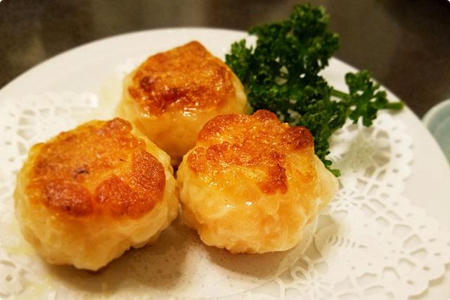 『XO醤入り海鮮焼き饅頭』
