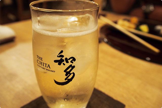 ジャパニーズウイスキーと和食をあわせるのも乙でいいですね!