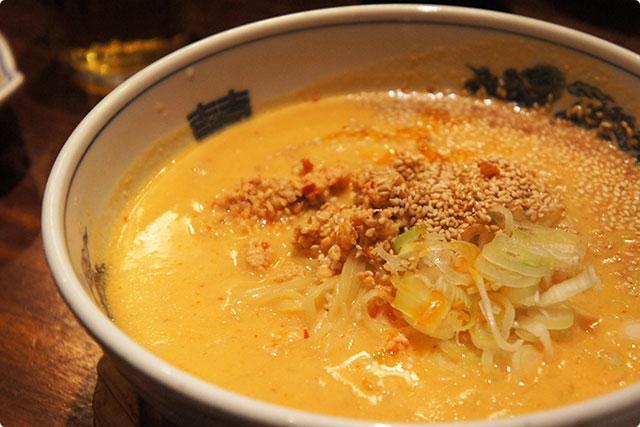 そしてお次は『白味噌担々麺』¥880