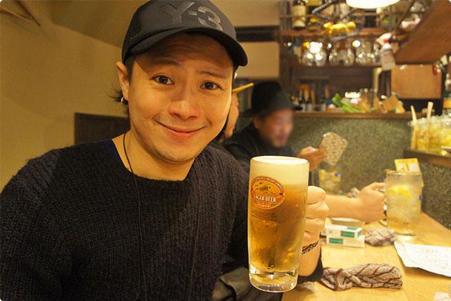しかしそこは牛お得意のオススメスルー!最初はビールで!!店長すみませんっ!てへぺろっ!