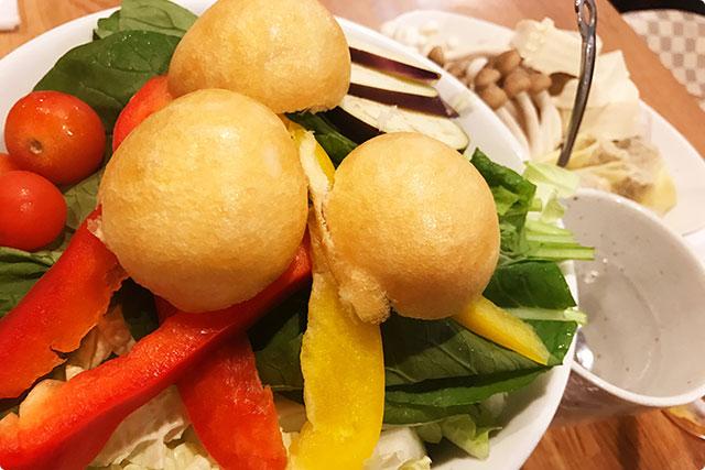 『野菜の盛り合わせ』