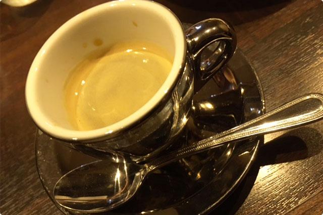 食後の『コーヒー』