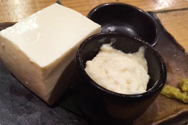 『大桃さん家の日本一おいしい豆腐』&『濃厚なゆばのお刺身』