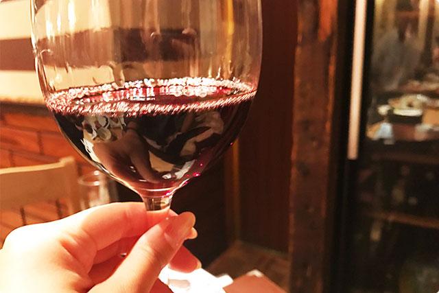お次は赤ワイン