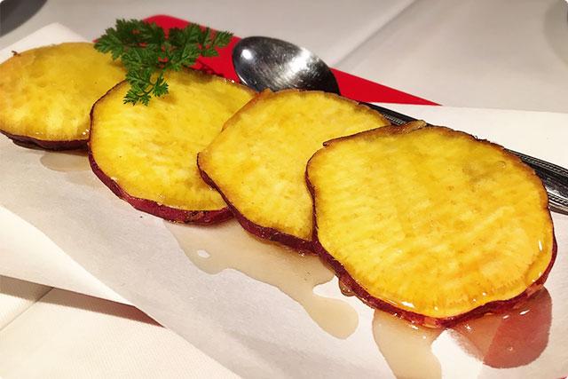 『サツマイモのハチミツシェイカーバター』¥600