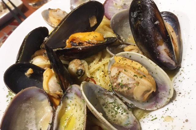 『函館直送! 3種の貝のボンゴレ・ビアンコ』