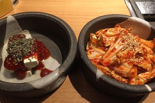 『チーズのキムチ』と『生キムチ』