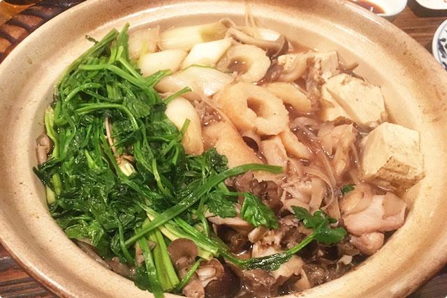 『きりたんぽ鍋』