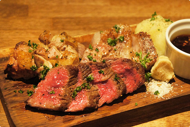 『肉3種盛』¥1,680