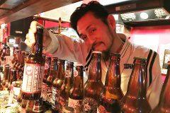 【Wolfs schutz -狼の巣】下北にすんごいロカビリーバー発見!見たことないビールが多数!辞書みたいなメニュー8ページ分のバリエーション!ばっちりハマるビールに必ず出会える!!
