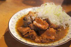 【岸田屋(きしだや)】明治創業、月島の名店で東京三大煮込みを食す。
