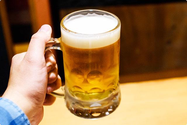 『ヱビス樽生ビール』 九州居酒屋エビス 西八王子総本店