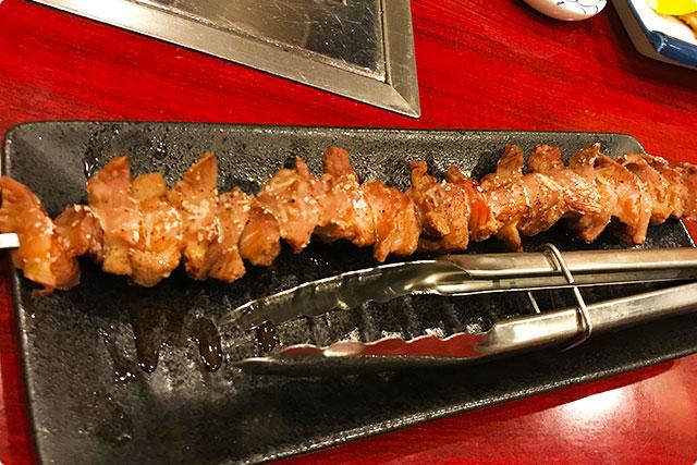 伊鈴 『砂肝串焼き』
