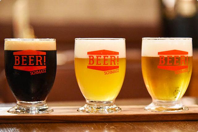 『ビール3種Choice』 シュマッツ ビアダイニング吉祥寺