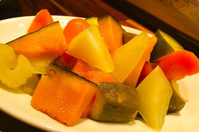 『ゴロゴロお野菜のピクルス』 タイガーバル