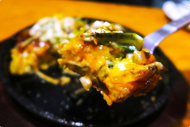 テッパン食堂スワーハ お好み焼きリフトアップ