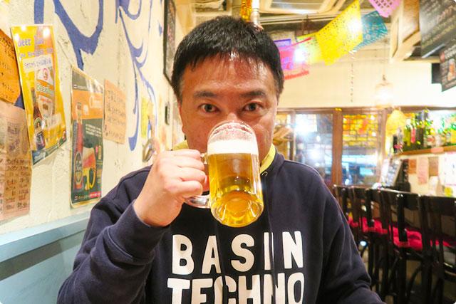 テッパン食堂スワーハ 『生ビール』