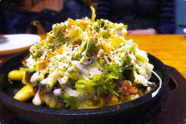 テッパン食堂スワーハ 『霧島モチ豚と減農薬キャベツのお好み焼き』