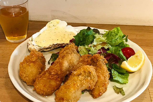 みやじま食堂 『カキフライ』