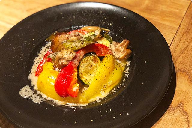 肉ビストロ灯  『ロースト野菜の盛り合わせ  ハーフ』