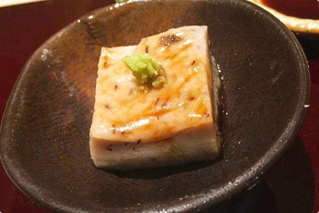 鮨 花おか 『ふきのとう豆腐』