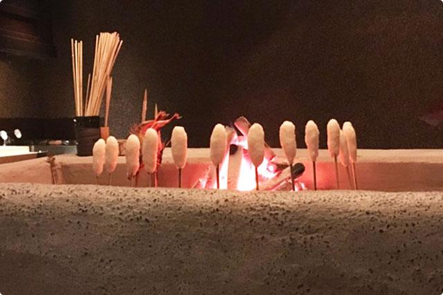 原始焼 火鉢